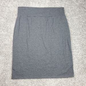 NWOT Plus Size 3X Grey Pencil Skirt from Tabeez